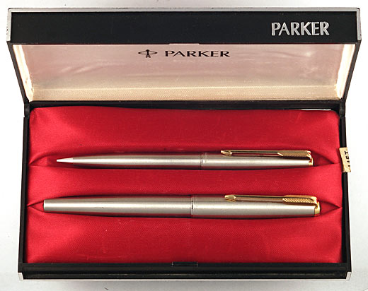 Parker Super 21 BLACK shell--NEW OLD STOCK